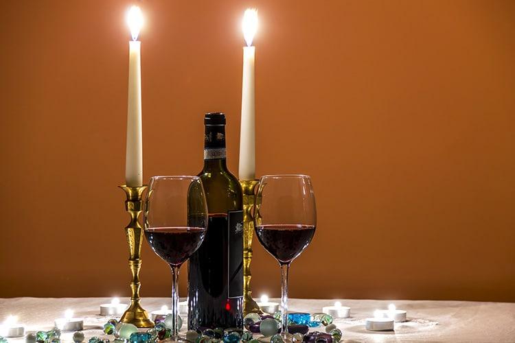 Bon vin rouge de France